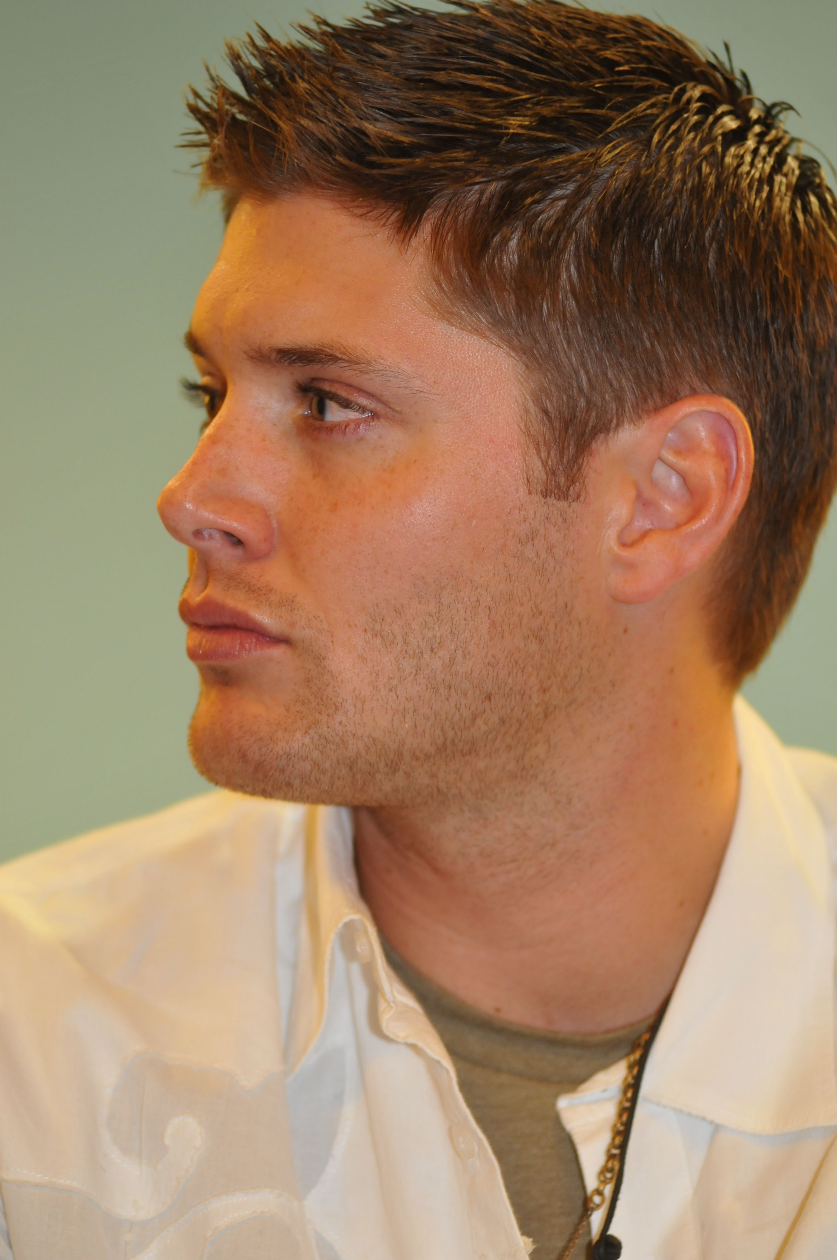ackles hair style ackles in san francisco the sam and dean is 3460