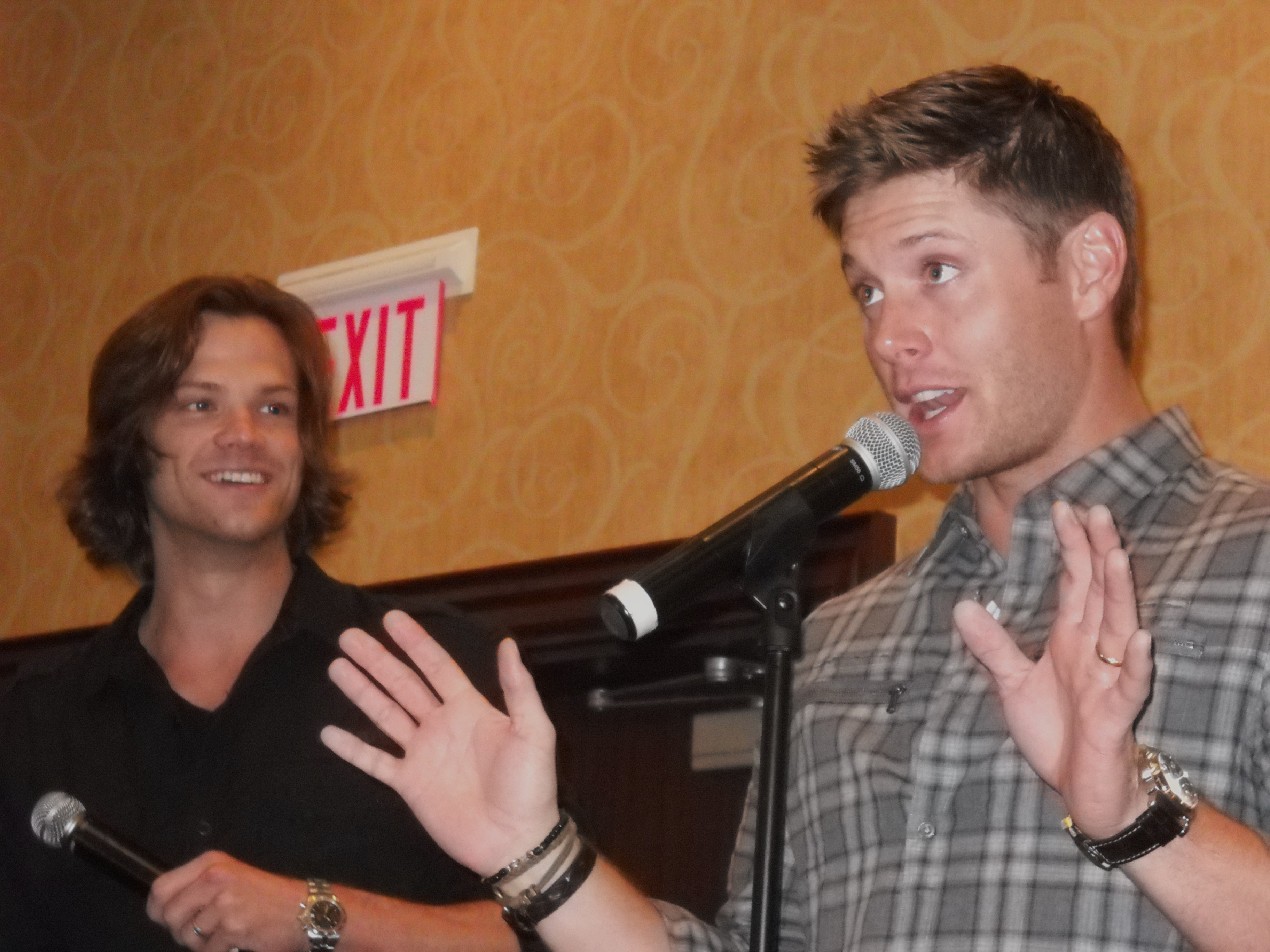 jensen and jared relationship in real life