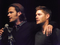 Jared and Jensen at ChiCon2011