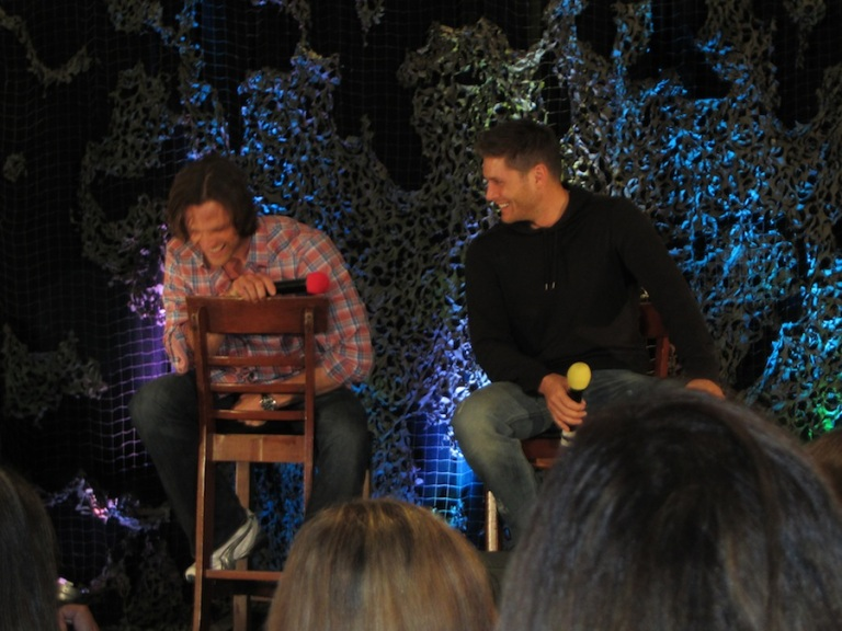 Jared and Jensen Enjoying Themselves As Much As We Are