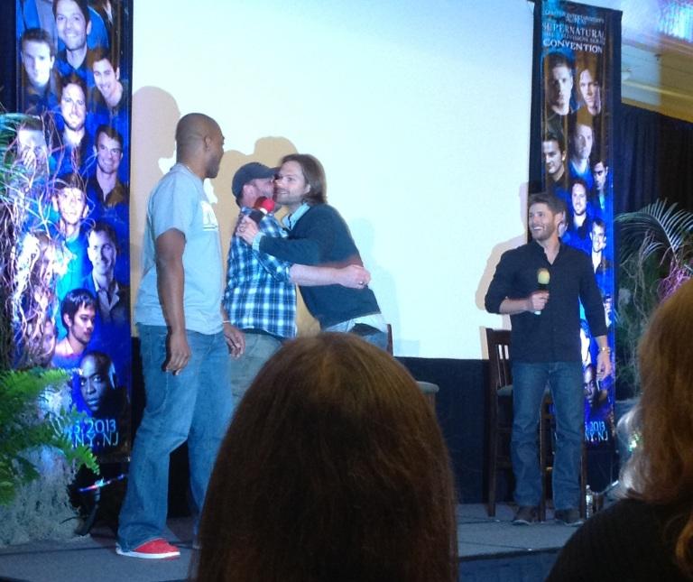 Supernatural group hug! Ty and Rick join J2