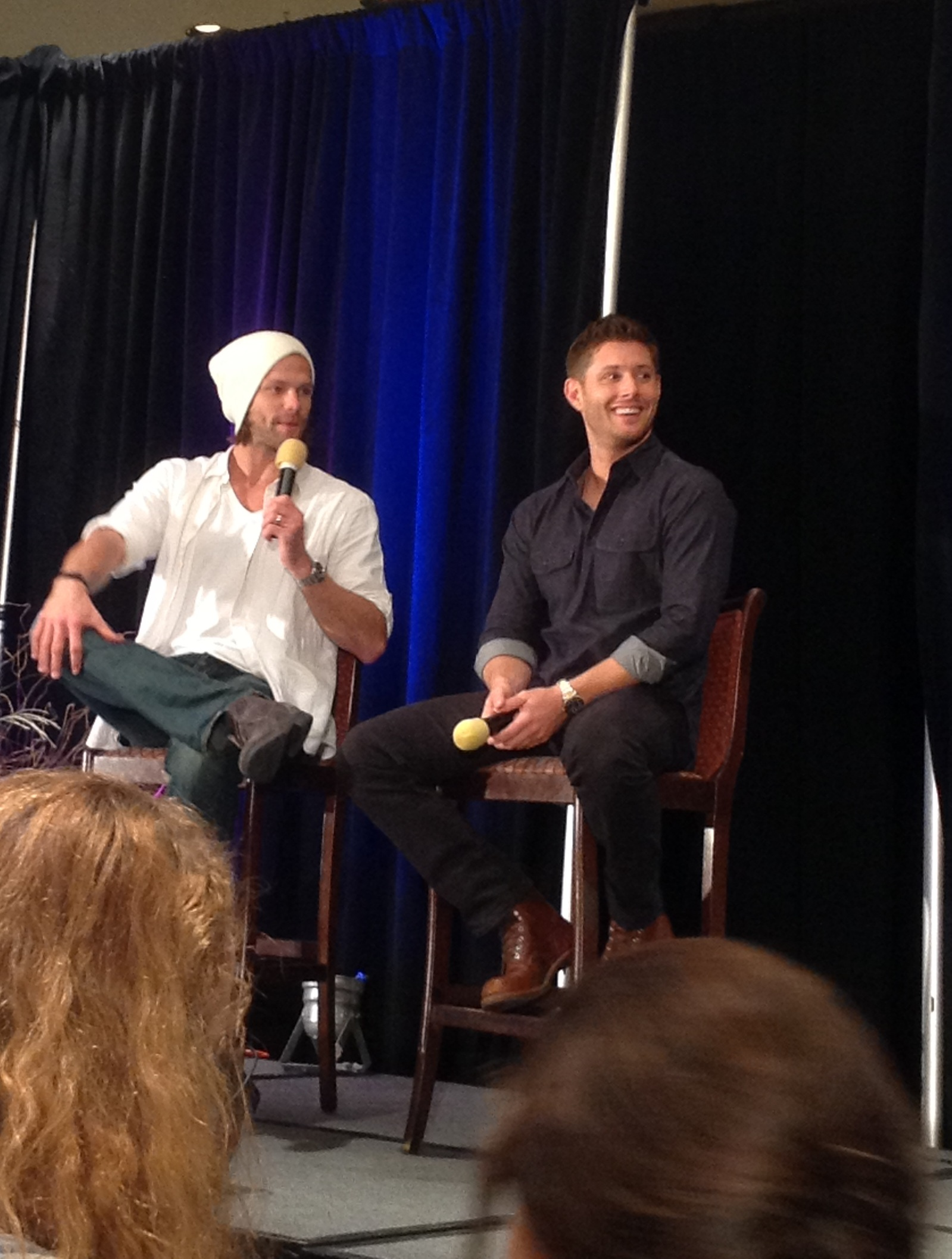 Jensen Ackles At Dallascon Meet And Greet Excerpts And That