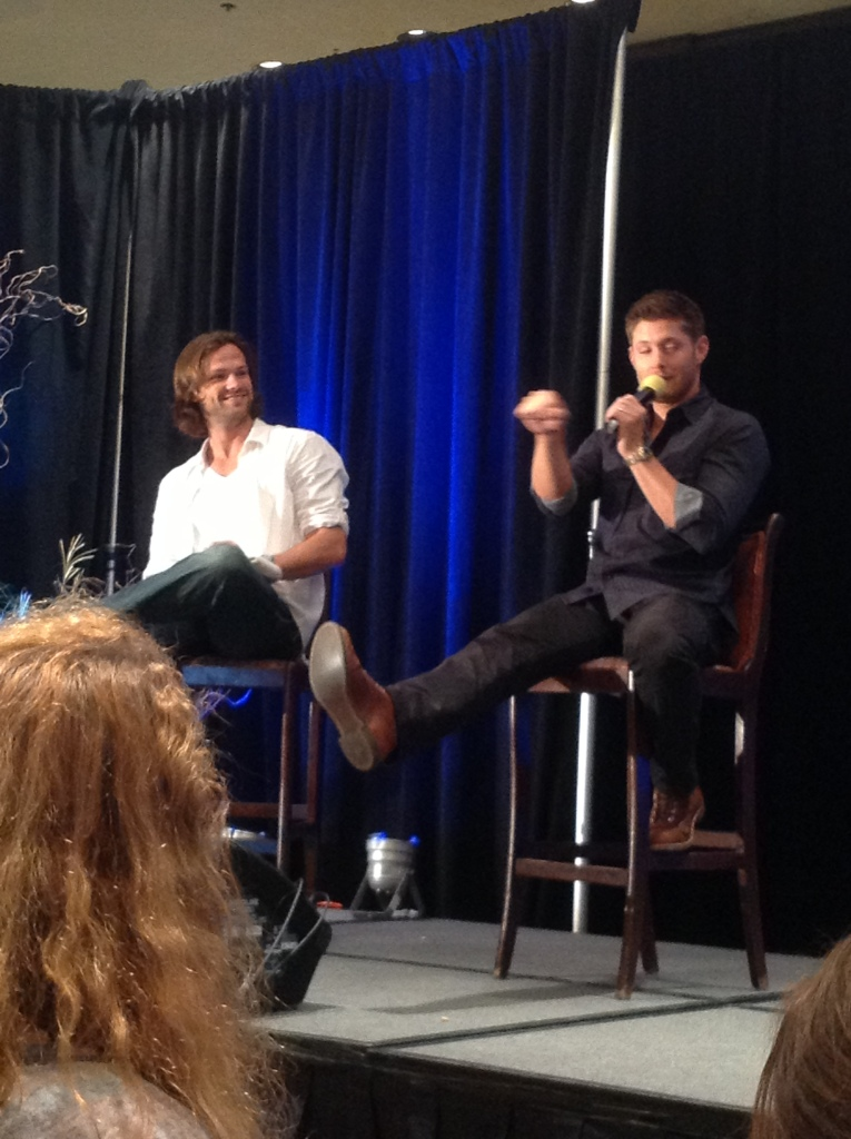 Jared appreciates Jensen's Impala skills