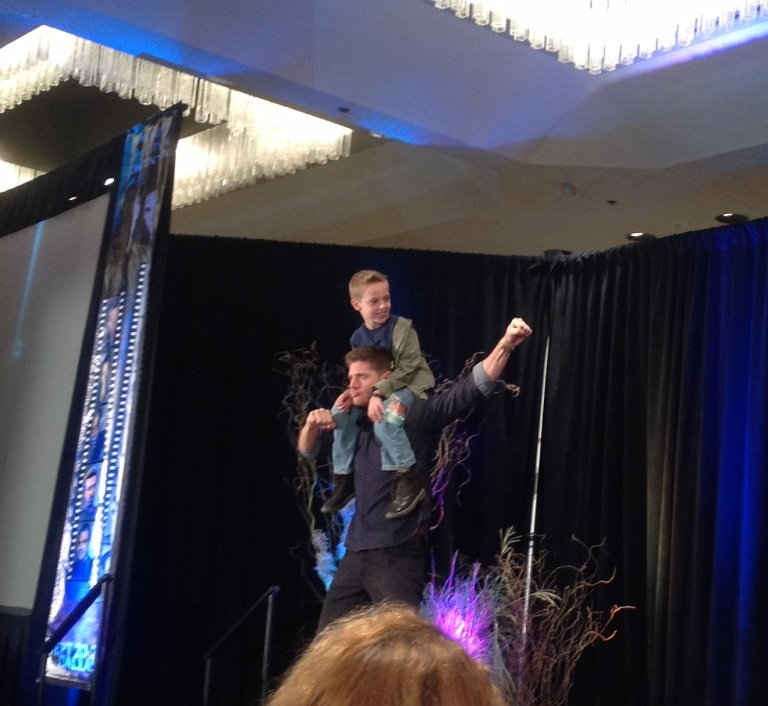 Jensen gives 'Little Dean' a boost