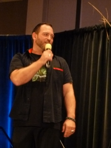 Ty Olsson onstage