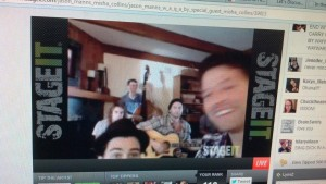 Matt Cohen and Misha Collins join Jason's StageIt