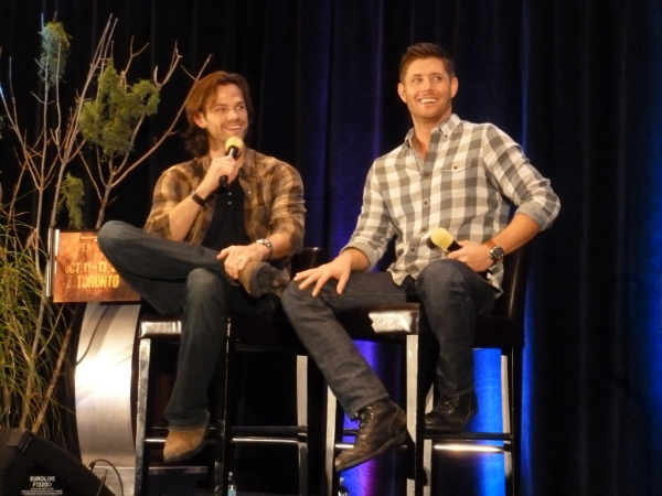 Jared and Jensen and their adorable smiles