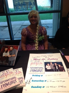 Osric at the Fangasm table!