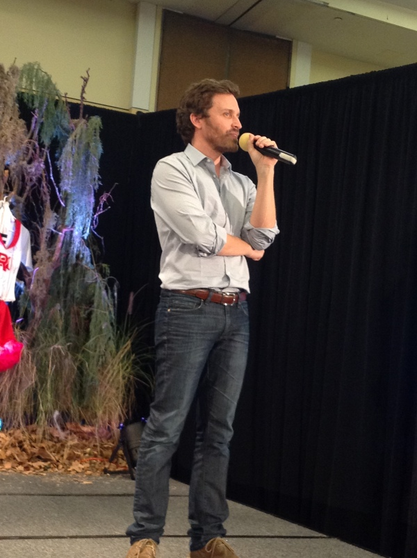 Rob Benedict gets serious