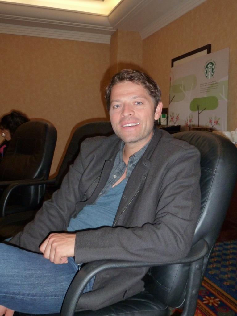 Collaborator Misha Collins