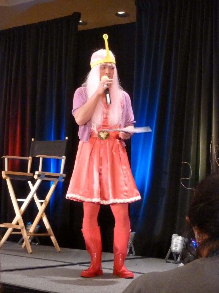 Osric as Princess Bubblegum