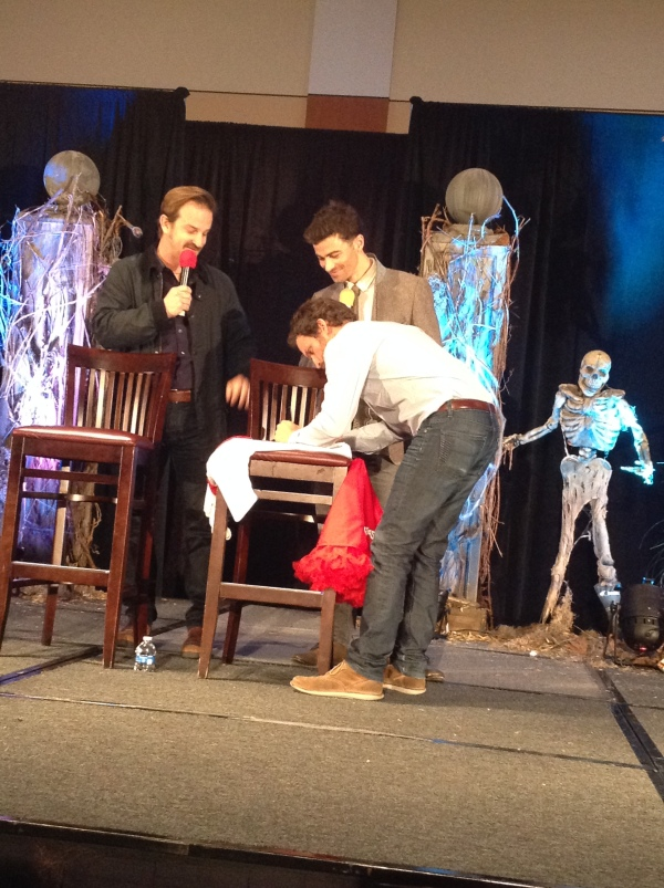 Rob with Richard and Matt at BurCon