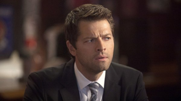 Cas in a suit that actually fits. LIke, well. Really well.
