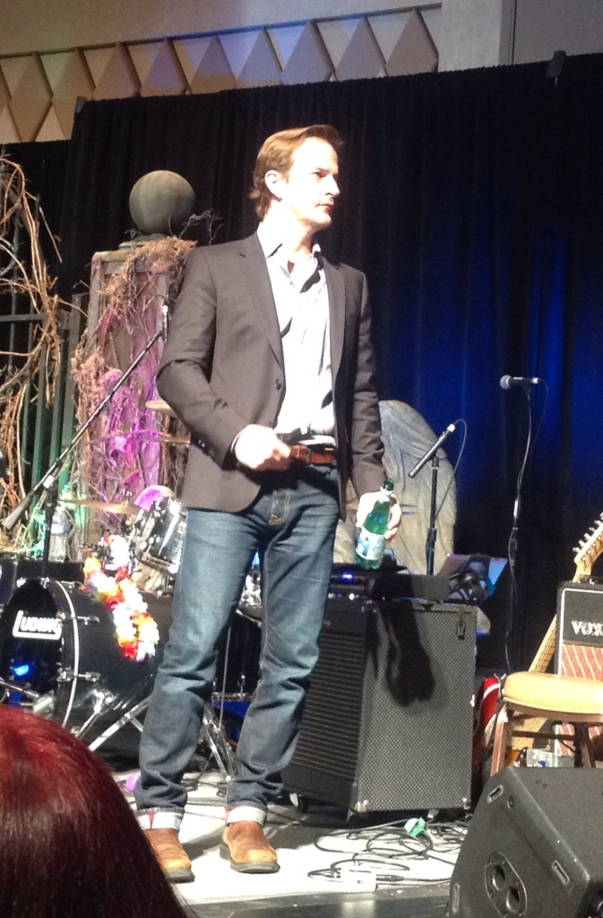 Emcee extraordinaire Richard Speight Jr