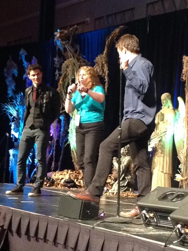 Matt and Misha host the cabaret