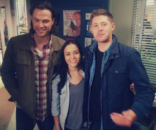 And behind the scenes with J2
