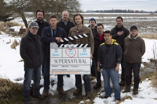Supernatural's Slates for Sarah (photo Jose Manzano)