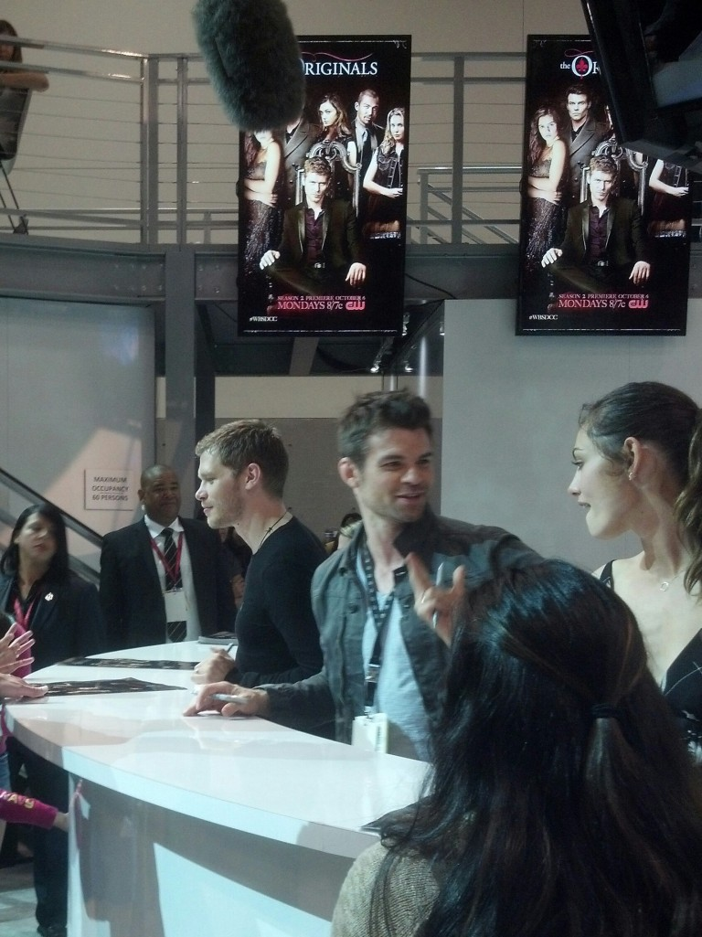The Originals cast chats with fans