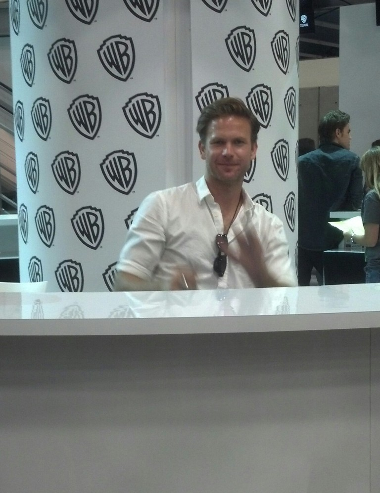 A thumbs up from Alaric