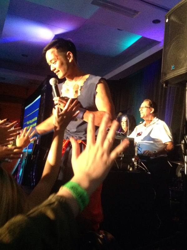 Osric gets down