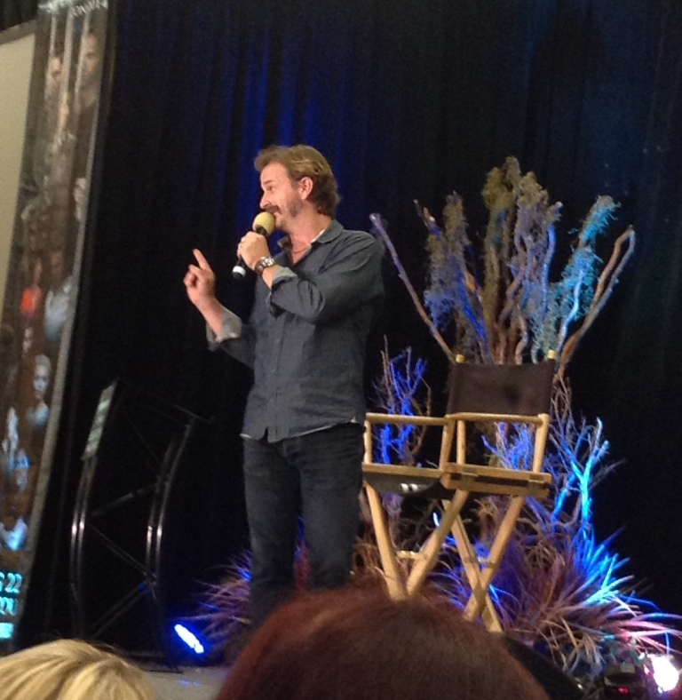 Richard onstage at VanCon