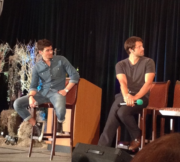 Matt and Misha. And their arms.
