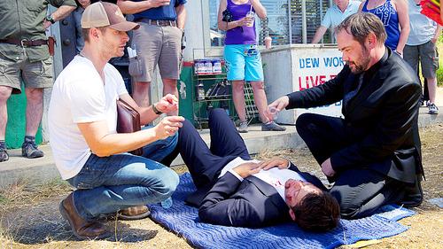 Jensen directs Misha and Mark