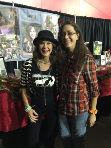 With Supernatural guest star the iconic Linda Blair