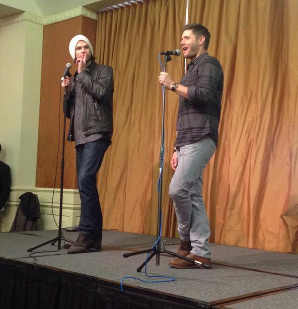 Jensen: that was me. Jared: shhhh