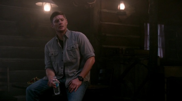 Dean sweating his ass off - in multiple layers!!