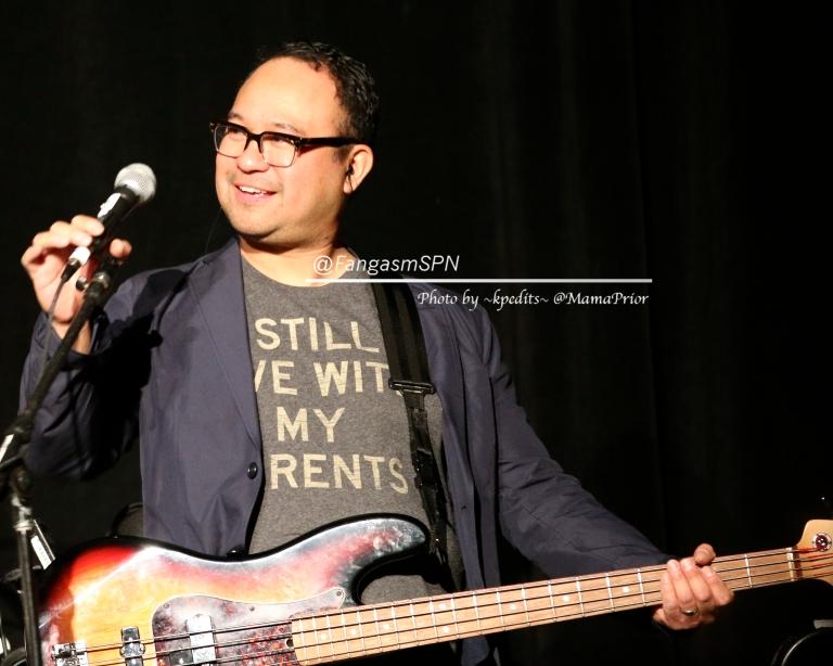 Bassist Mike Borja