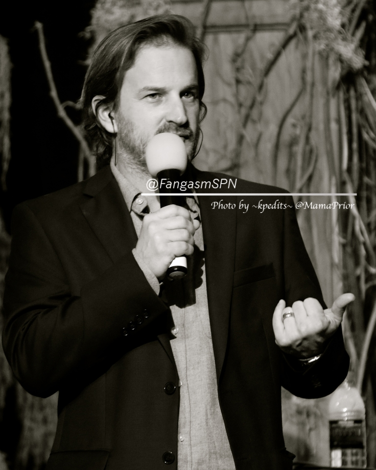 Host with the most Richard Speight Jr