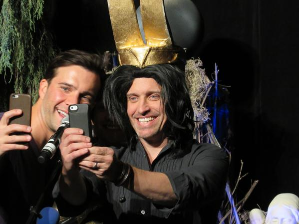 Gil and Rob take an epic selfie