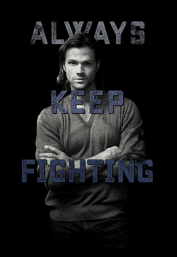 keep fighting tee