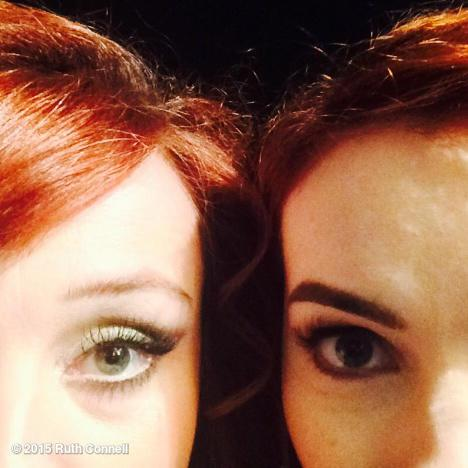 Redheads Ruth and Felicia