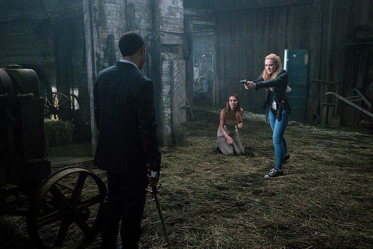 Claire confronts Tamiel