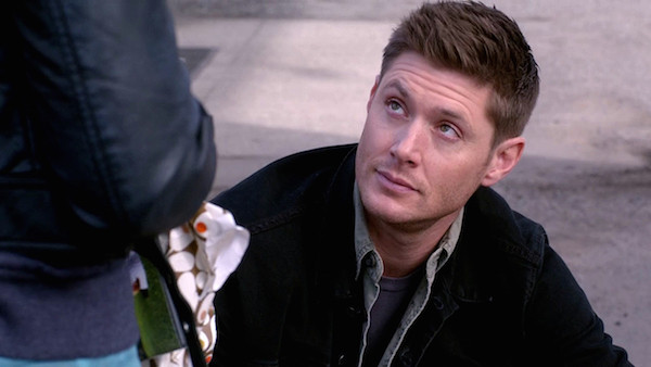 Dean finds Tamiel's sword in Claire's duffel
