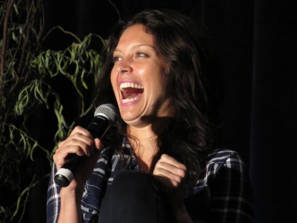 Love Alaina's laugh