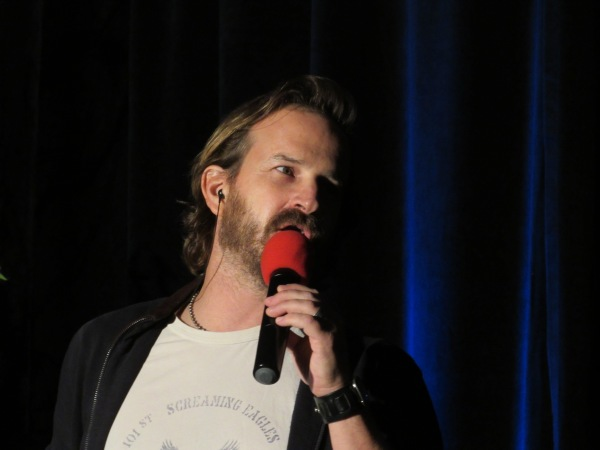 Host with the most Richard Speight Jr.