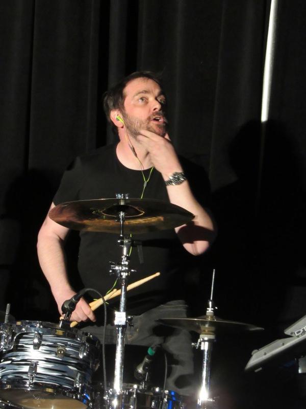 Mark Sheppard kicks ass on drums
