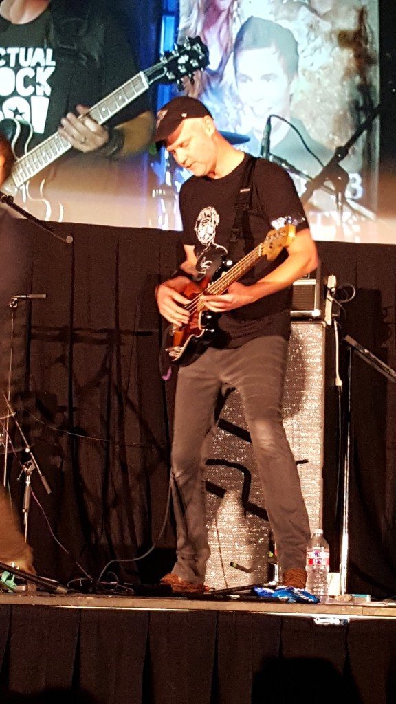 Creation's Chris Schmelke on bass