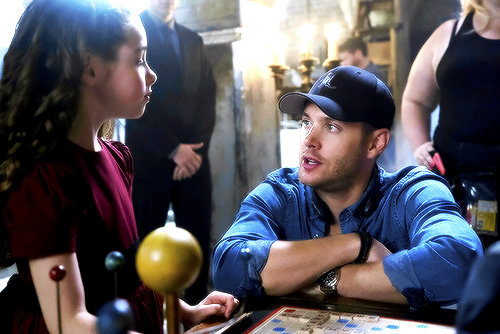 Action Ackles in action