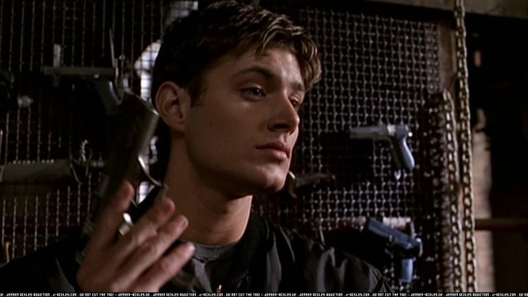Jensen as Ben on Dark Angel