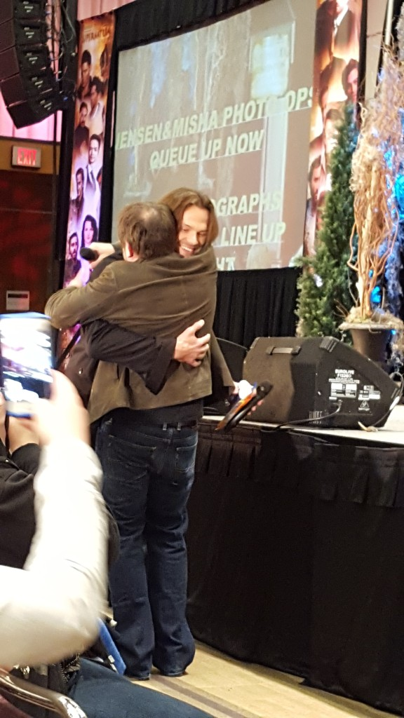 Awww hug it out boys