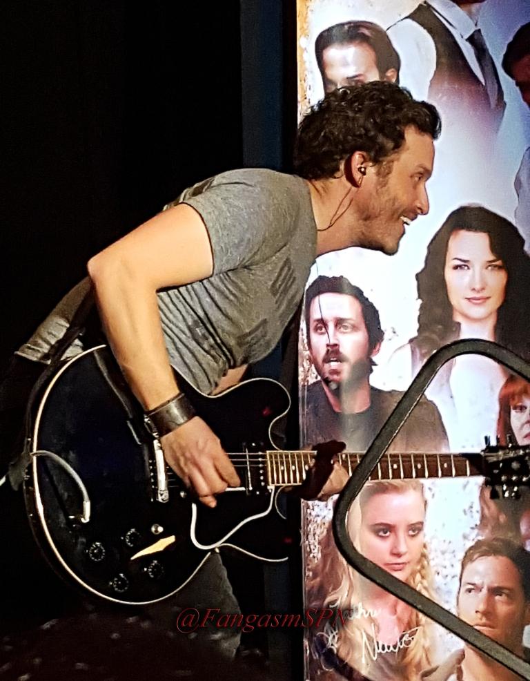 Rob being a rockstar