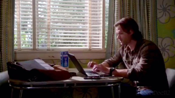 Sam being smart. Cap heartdoc112