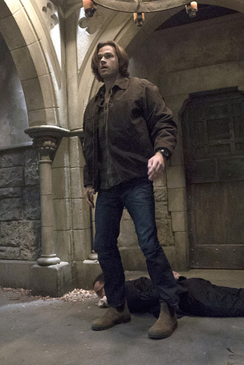 Sam being badass. WB/The CW