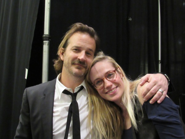 Writer Jenny Klein and director Richard Speight, Jr.