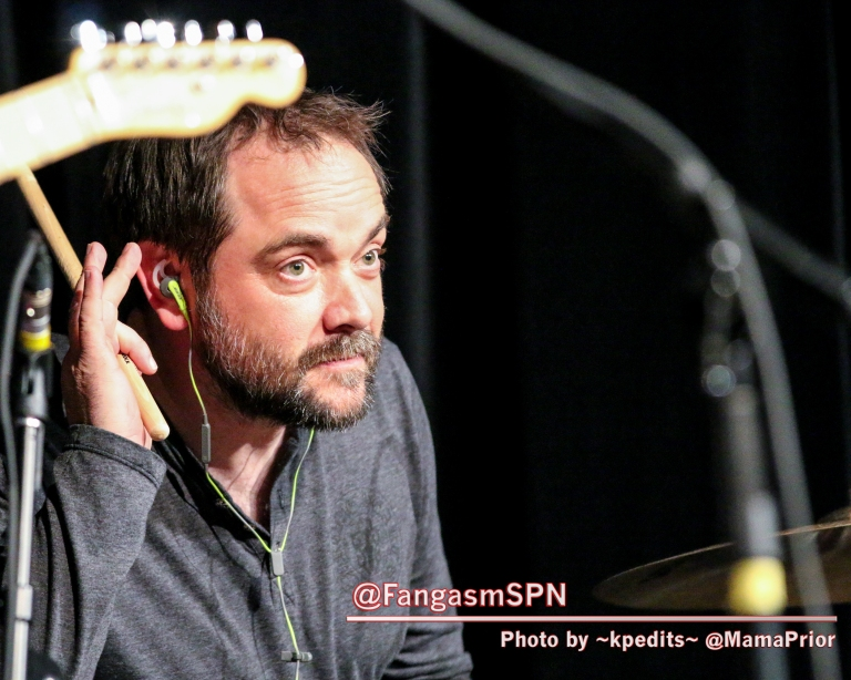 Mark Sheppard on drums