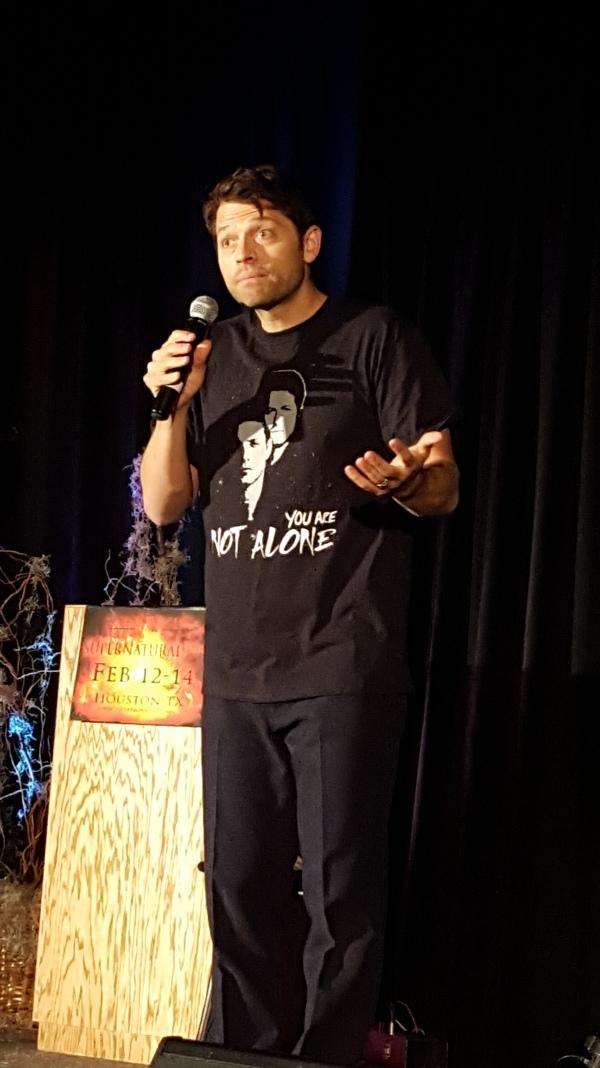 Misha in his YANA tee shirt